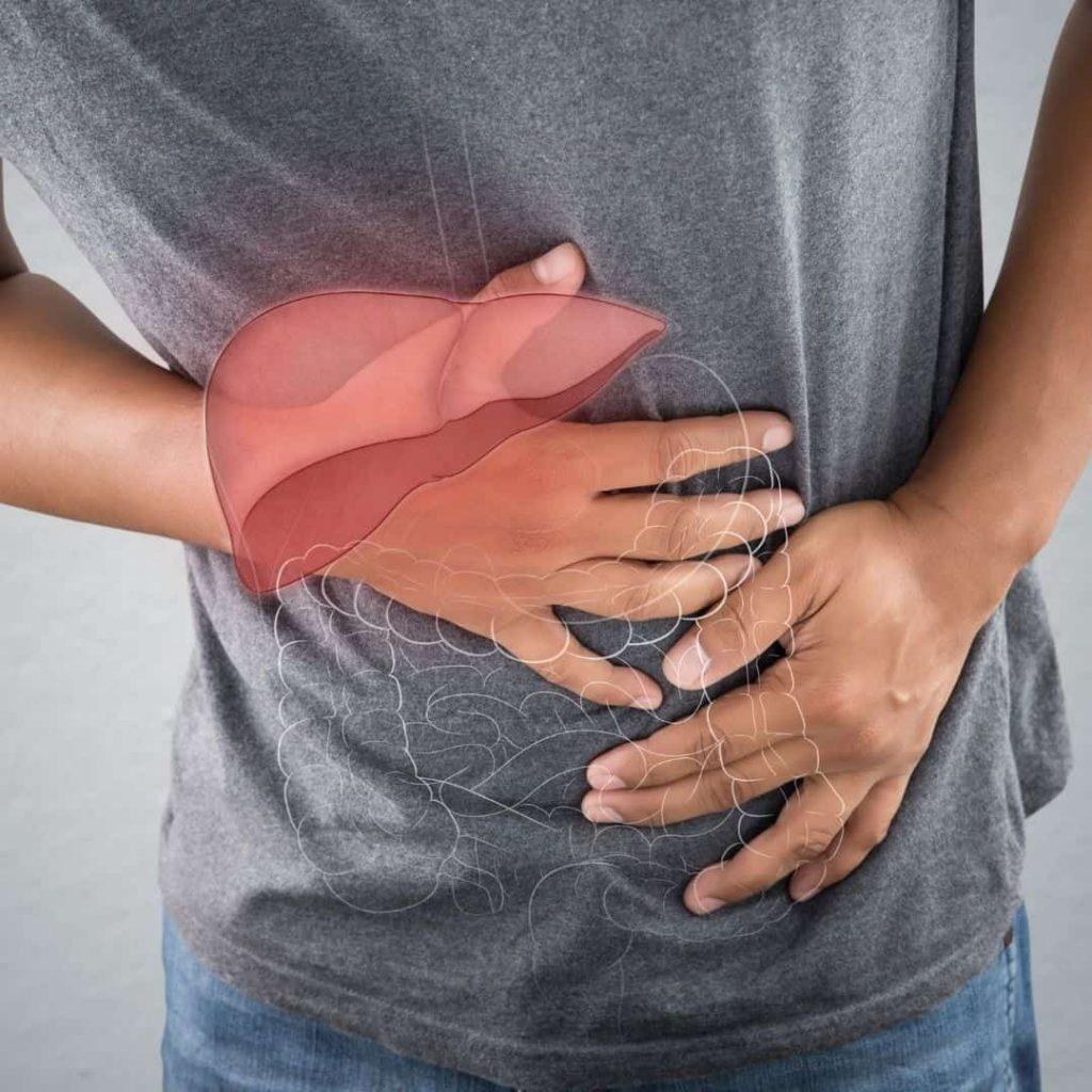 señales de un hígado enfermo